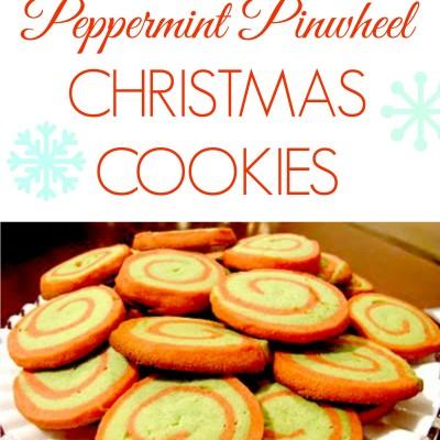 Baking Night: Peppermint Pinwheel Cookies