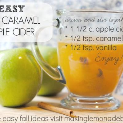 Hot Caramel Cider Recipe