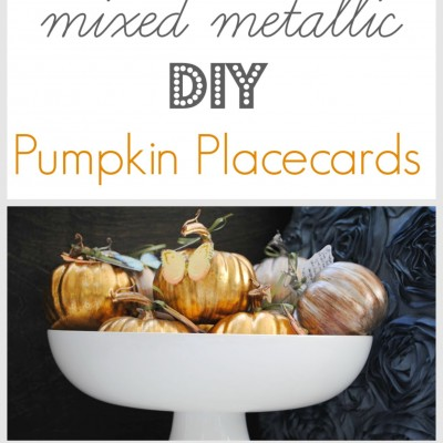 DIY Thanksgiving Placecards