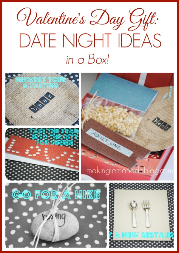 Valentines Day Gift Idea: Date Night Ideas in a Box!