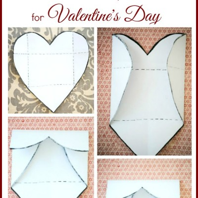 DIY Valentine's Day Heart Photo Cards