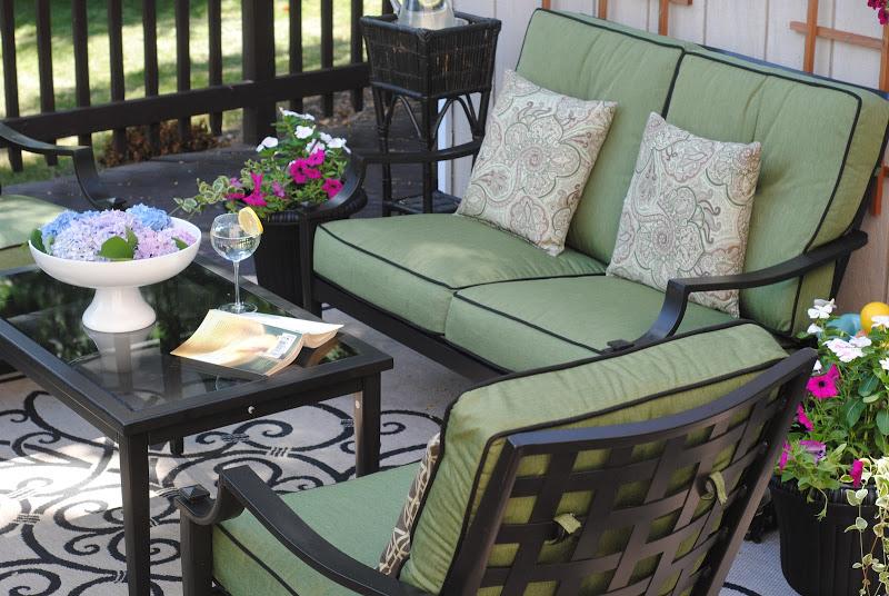 Outdoor Furniture and Vertical Garden Wall