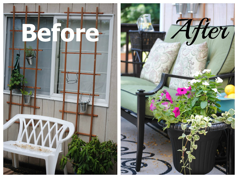 Outdoor Furniture Deck Makeover