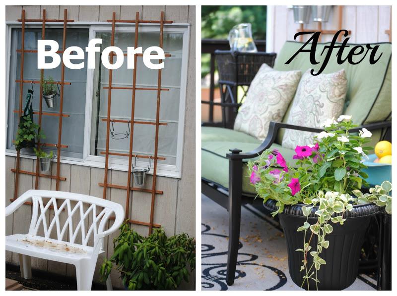 Outdoor Furniture Deck Makeover