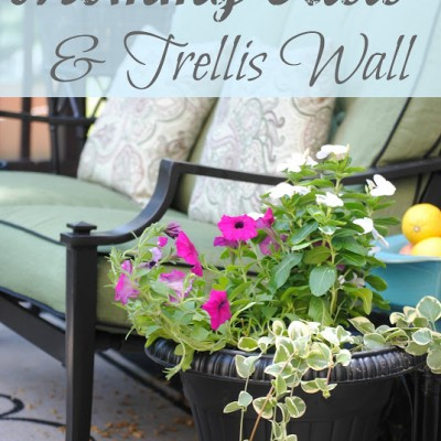 Creating an DIY Outdoor Mommy Oasis
