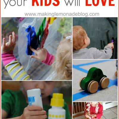Totful Tuesday: 10 Rainy Day Activities for Kids