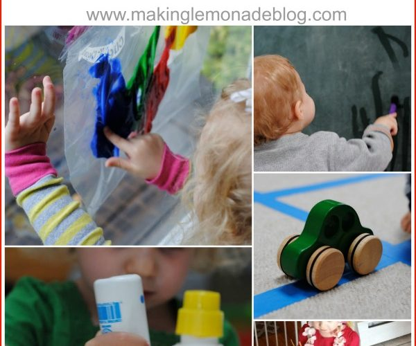 10 FUN Rainy Day Activities your Kids will LOVE (and so will you!) #kids #activities via www.makinglemonadeblog.com