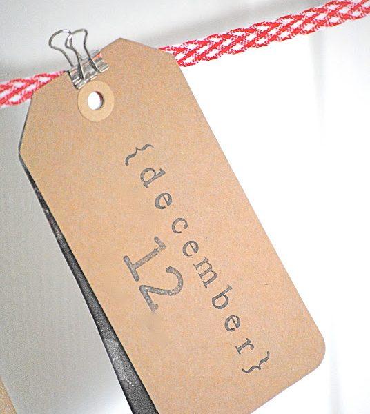 fun Christmas craft ideas... a DIY photo advent calendar!