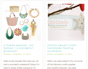 simple and beautiful blog design ideas and inspiration
