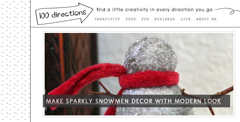 simple and beautiful blog design ideas