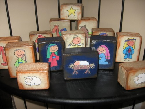 DIY Kids Nativity Sets and Nativity Ideas
