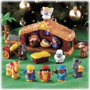 Little People Nativity Set