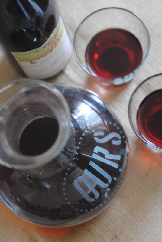 DIY Wine Set {Favorite Posts of 2012}