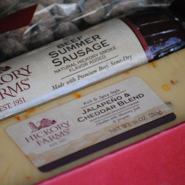 Hickory Farms holiday gift idea