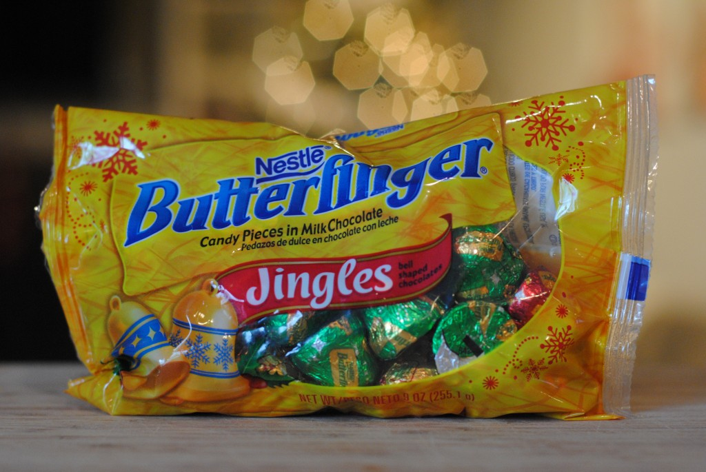 Butterfinger Jingles (Celebrate the Season with #HolidayCandy)