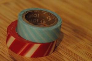 Christmas washi tape {Celebrate the Season with #HolidayCandy}