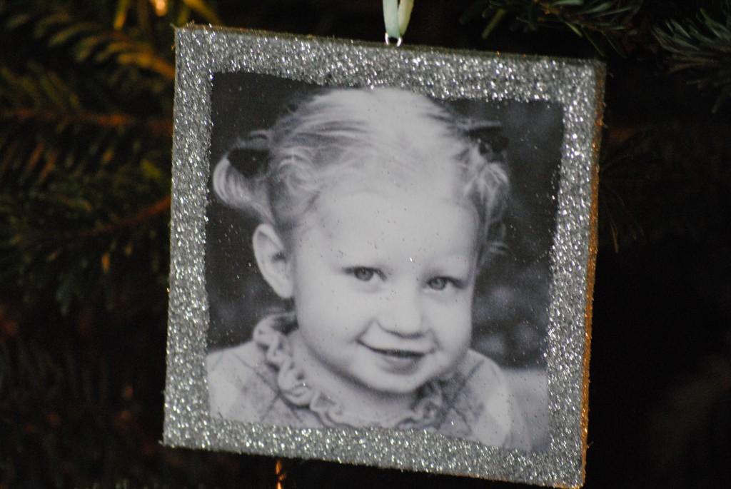 DIY handmade Christmas photo ornaments {& Family Tree Ideas)