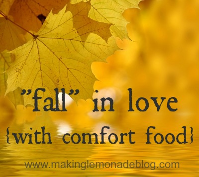 Comfort Food recipes {Favorite Posts of 2012}