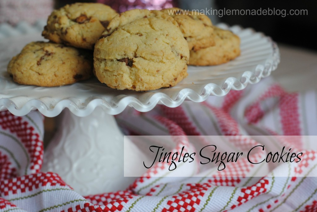 Jingles Sugar Cookies {Celebrate with #HolidayCandy}