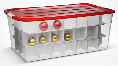 christmas storage christmas organization ideas - Christmas Decoration Storage Containers
