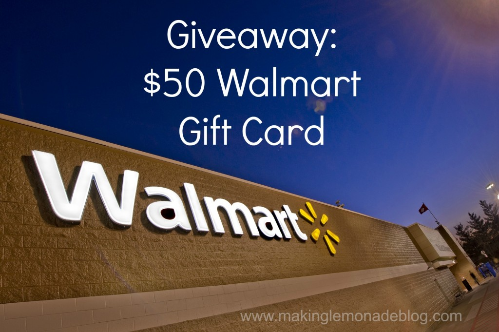 $50 Walmart Gift Card Giveaway {sponsored by Flatout}