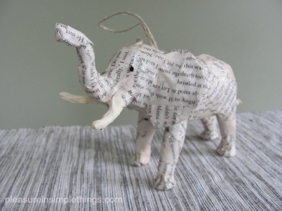 Handmade animal ornaments