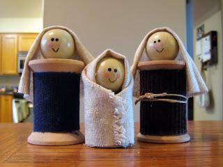 DIY Kids Nativity Sets and Nativity Craft Ideas