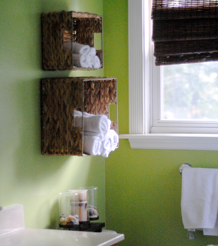 DIY towel storage (13 Home Goals for 2013}
