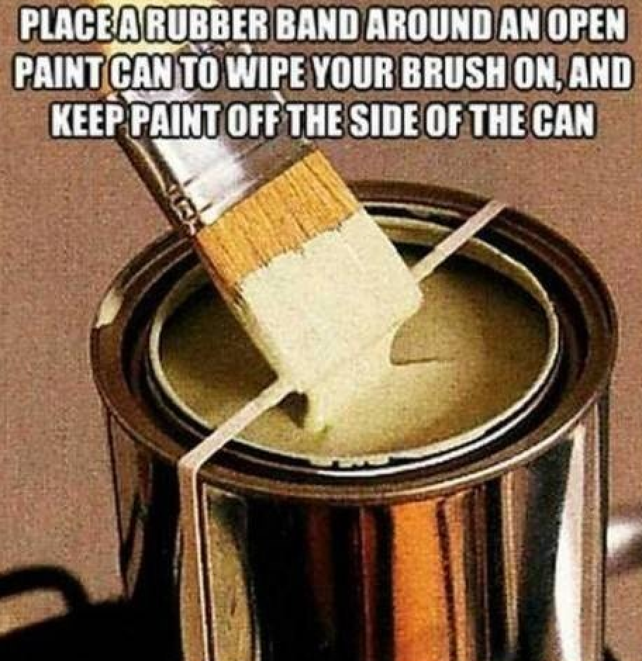 brilliant DIY tip {25+ Brilliant Ideas and Timesavers That Will Rock Your World}