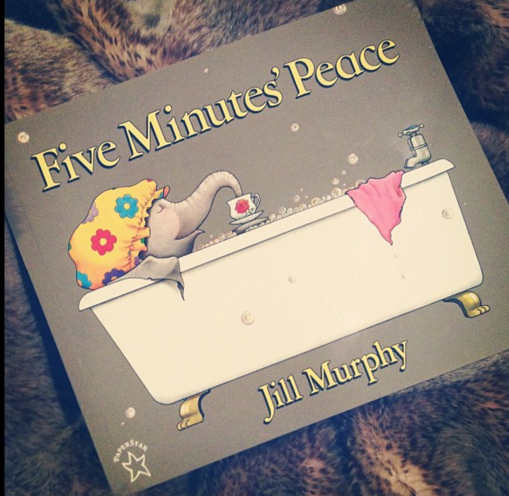 Finding 5 Minutes' Peace {great book for moms!}