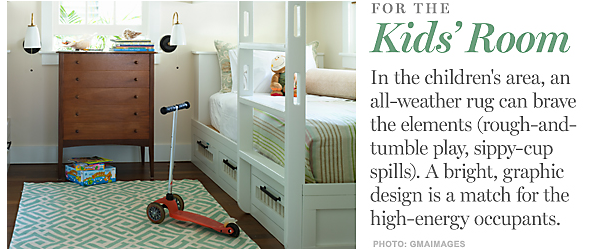 bkids rugs {ways to use outdoor rugs indoors}