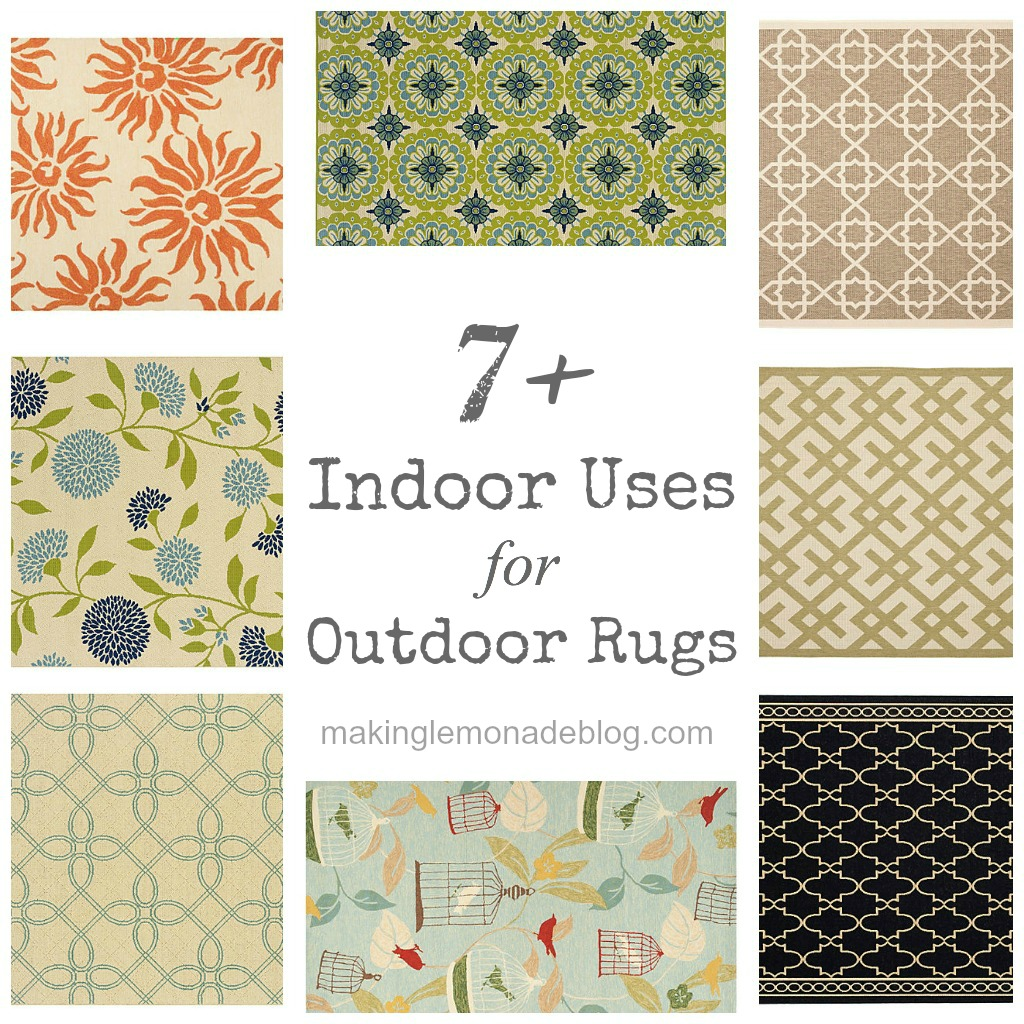 indoor uses for outdoor rugs