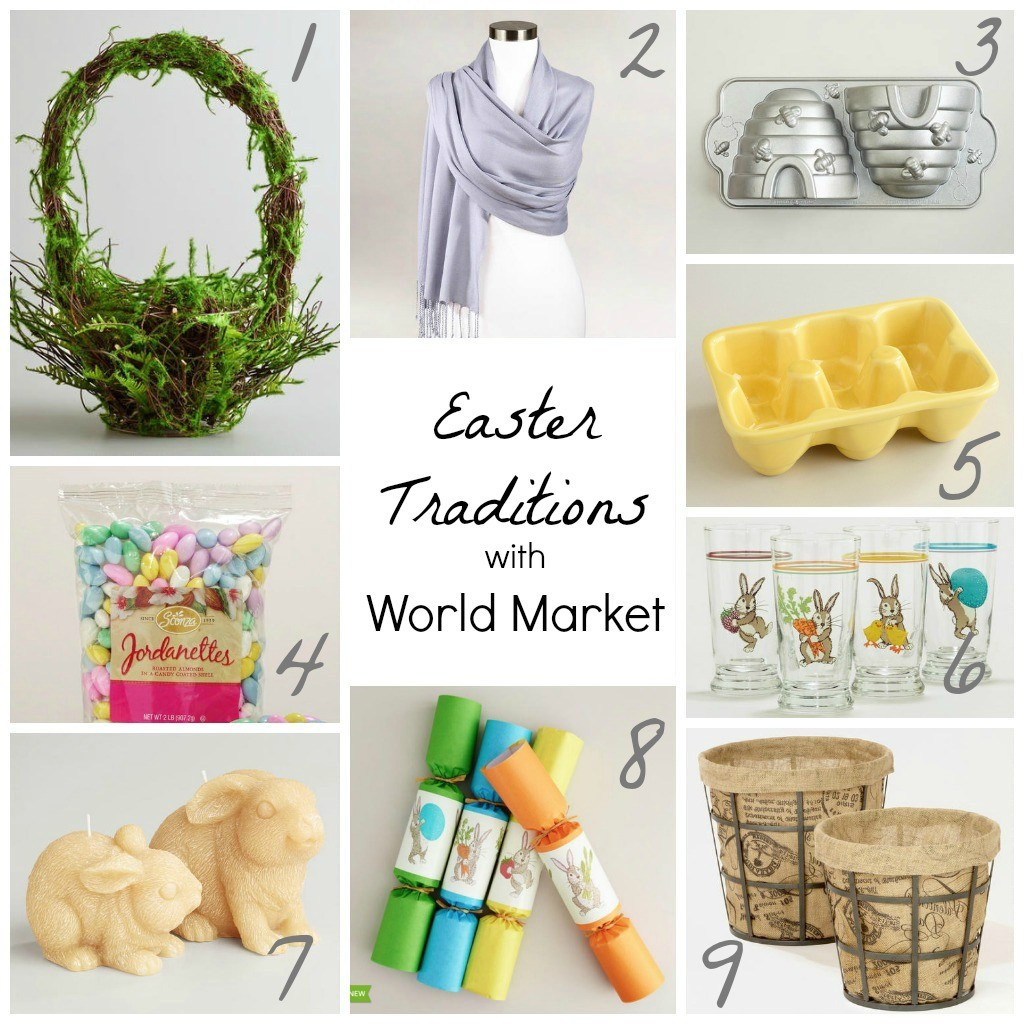 Easter Basket and Easter Gift Ideas {World Market}