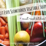 Best Ever Slowcooker Vegetable Soup!