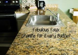 faux granite idea
