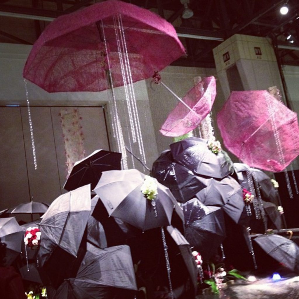 umbrellas on display