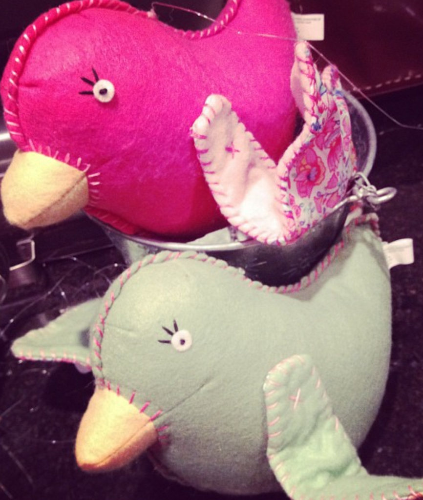 Pottery Barn birds