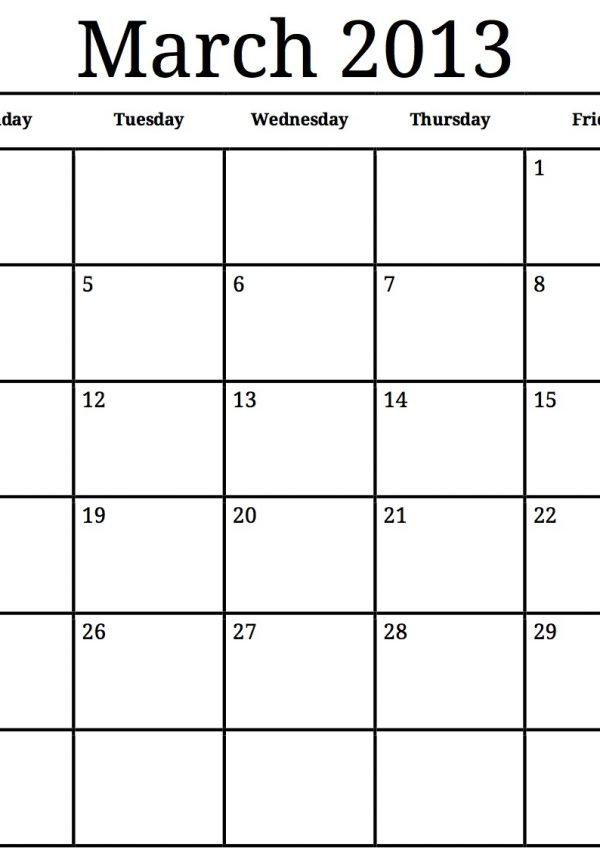 Spring Cleaning Calendar JUST FOR YOU
