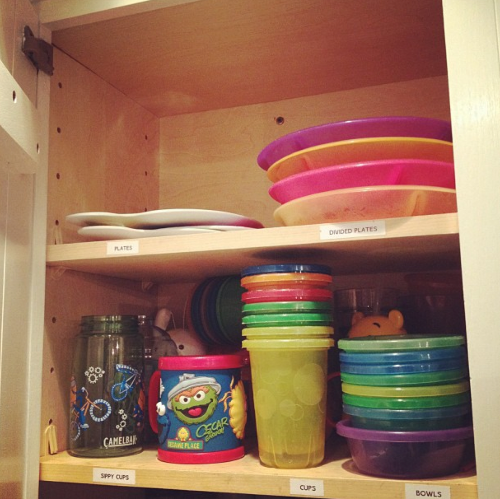 kitchen organization idea