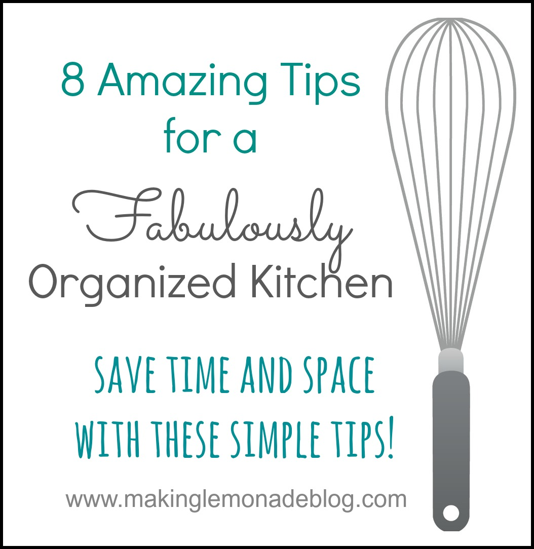 8 Kitchen Organization and Storage Tips