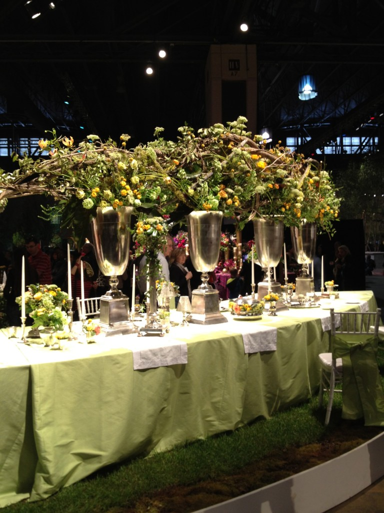 tall dramatic centerpiece