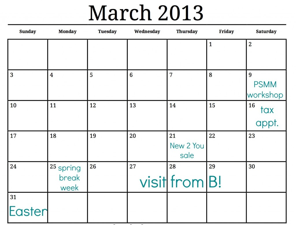How to Make your Own Spring Cleaning Schedule