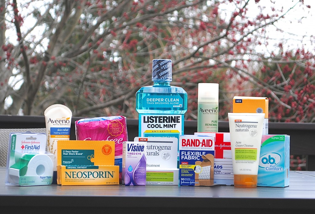 Healthy Essentials Giveaway from Johnson & Johnson