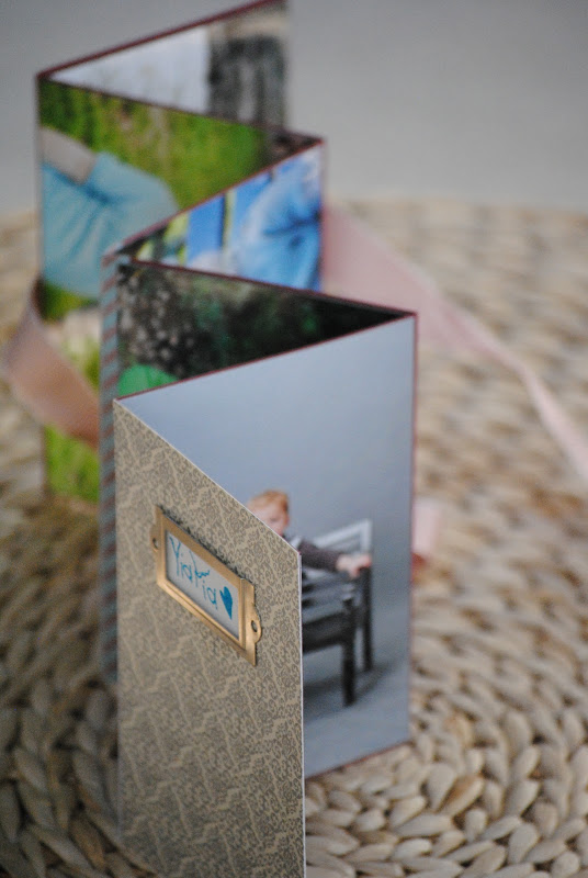 Homemade Photo Book {Mother's Day Gift Idea}