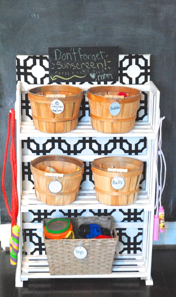 DIY Garage Shelving and Toy Storage