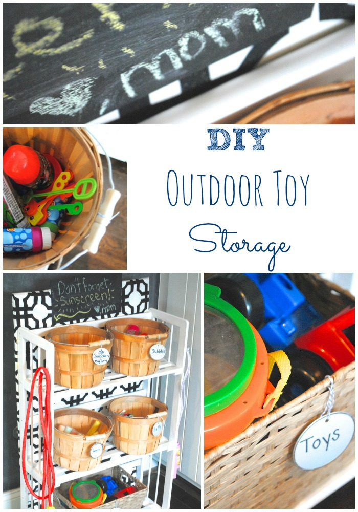 DIY Garage Shelving and Toy Storage