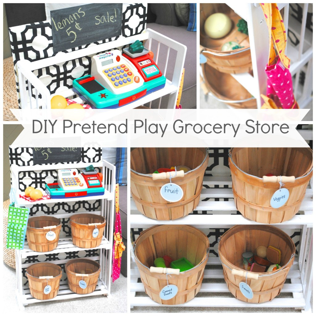 play kitchen food storage diy pretend play grocery 4283