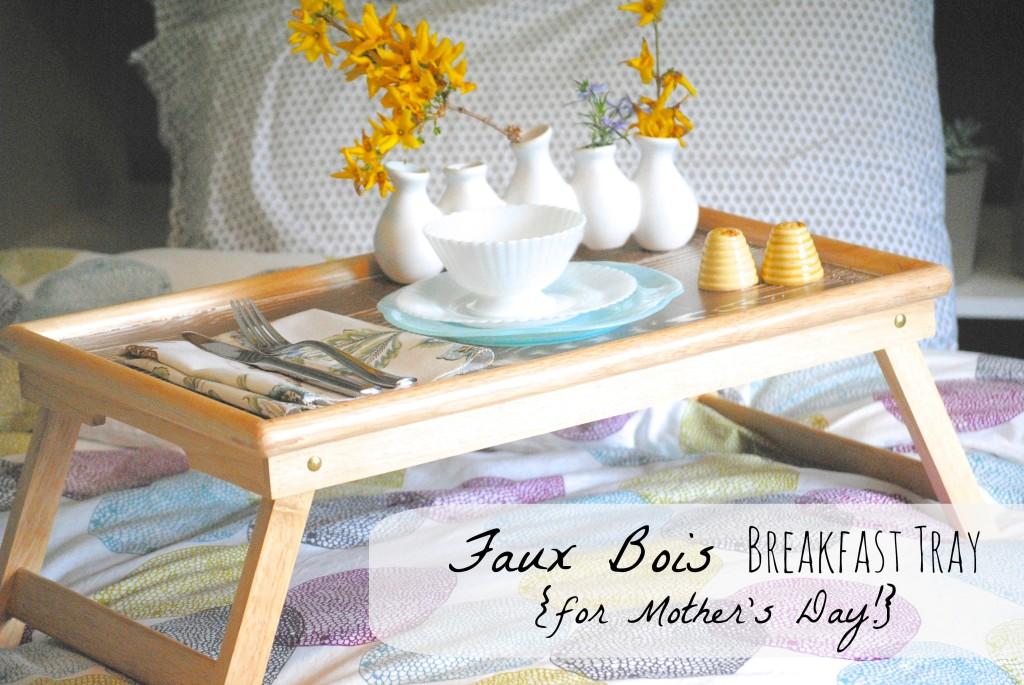 How to Paint Faux Bois