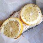 halibut parcels with lemon & dill recipe