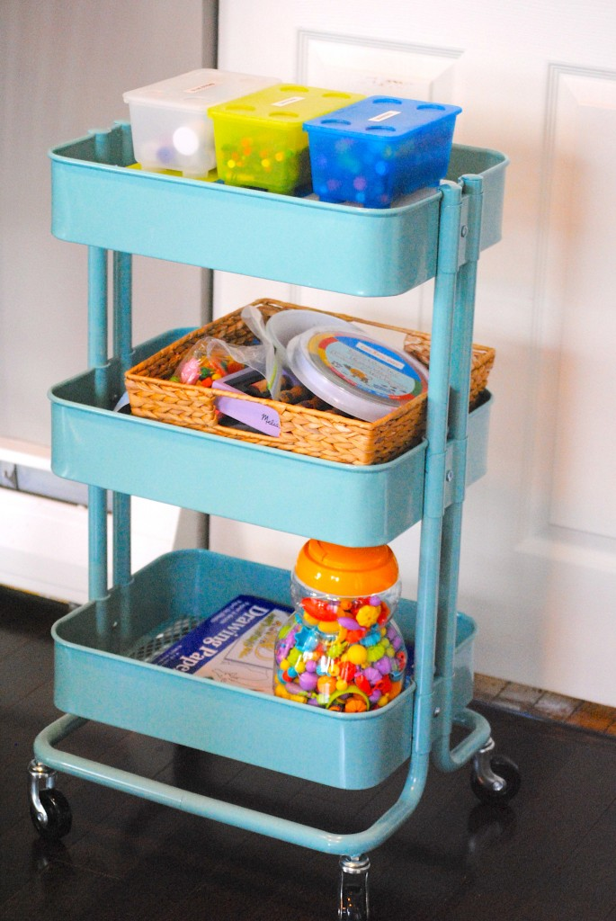 Kids Art Cart Ikea Hack